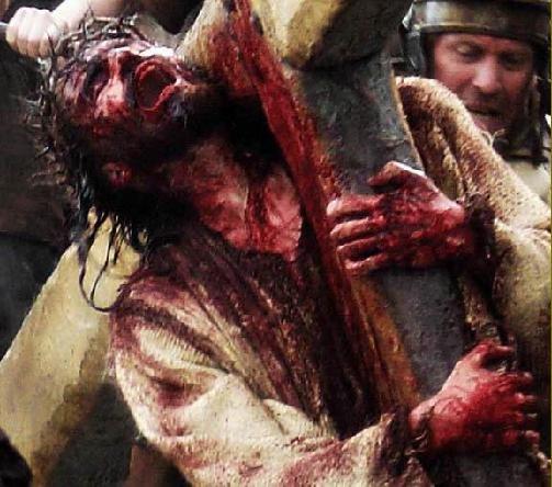 jesus cross images. nailing jesus to cross