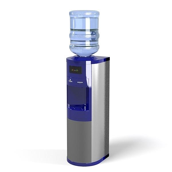 Bottled Water cooler dispenser Ecotronic beverage refrigerator ...