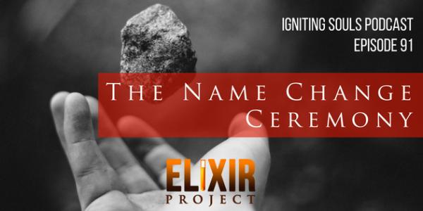 The name change ceremony