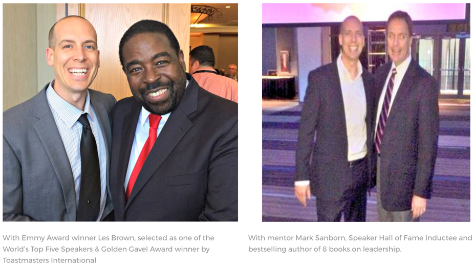 Kary Oberbrunner, Les Brown, Mark Sanborn
