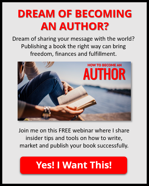 You don't need a big following to become an author - Kary Oberbrunner
