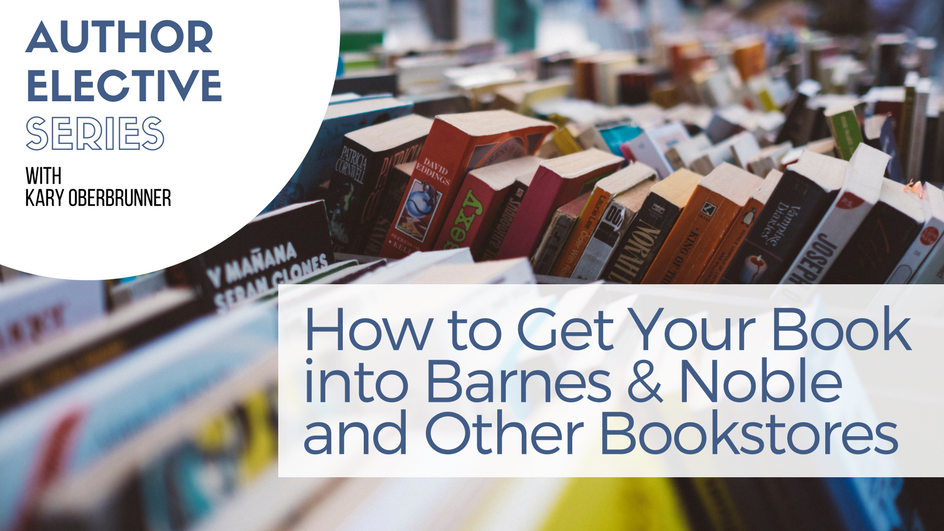 How to get your book into Barnes & Noble