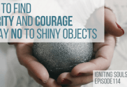 say no to shiny objects