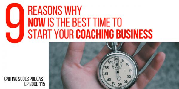 start a coaching business