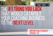 take your coaching business to the next level