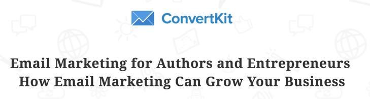 ConvertKit Webinar