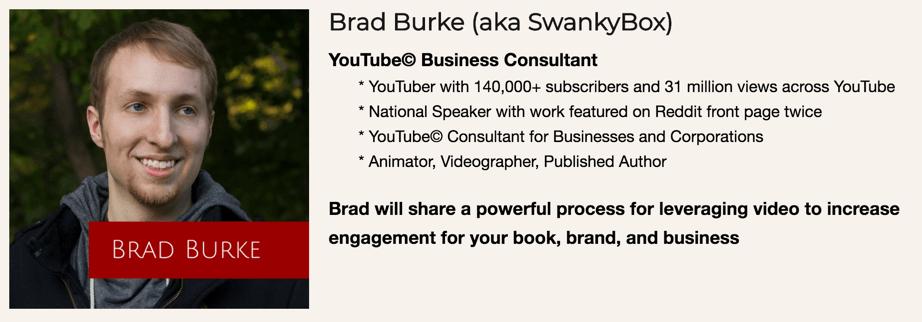 Brad Burke SwankyBox